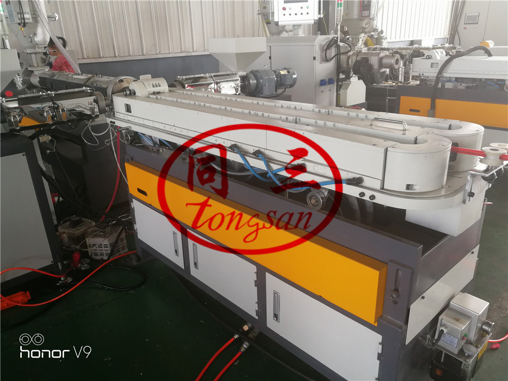 corrugated tube shape machine