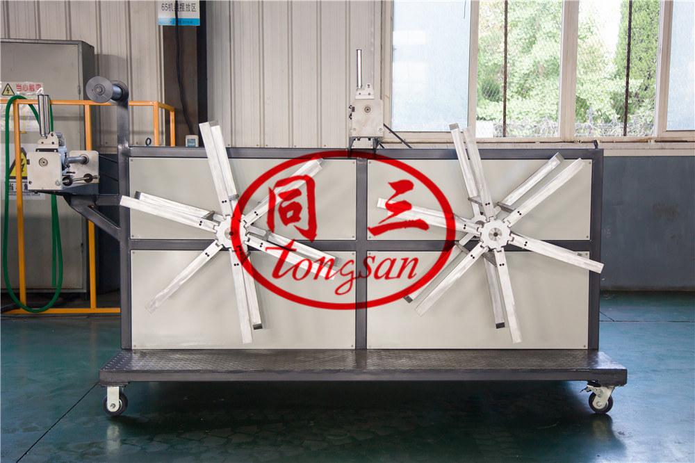 corrugated pipe winding machine