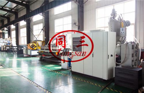 double wall corrugated pvc pipe machine factory/ double wall drain pipe machine