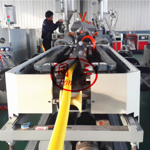 dwc flexible pipe machine manufacturer with factory cost/ dual wall corrugated pipe machine