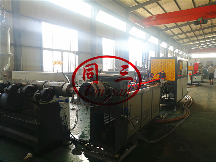 spiral corrugated pipe extruder machine