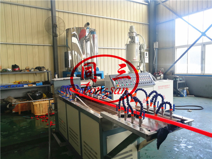 spiral corrugated pipe production machine