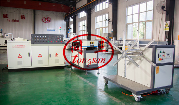 Machine à tuyau ondulé à simple paroi avec prix usine