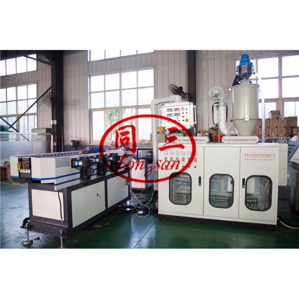 single wall corrugated pipe extrusion line manufacturer in China with factory cost