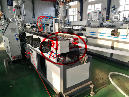 China best plastic corrugated pipe extrusion machine manufacturer