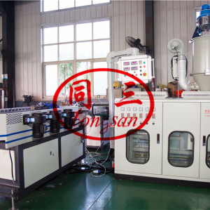 good service corrugated pipe extrusion machine in China factory cost