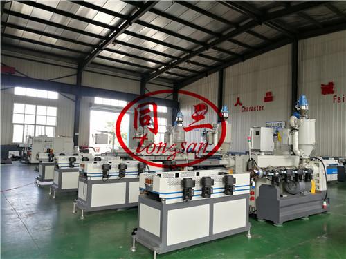 corrugated shrinking pipe machine/ shrinkale corrugated pipe machine