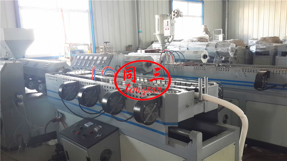 magic pipe extruder line