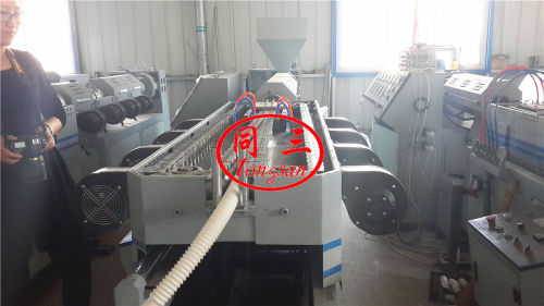corrugated flexible pipe machine supplier cost