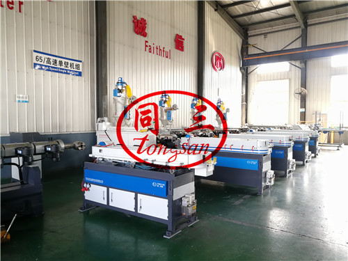 corrugation pipe manufacture machinery