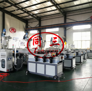 corrugated plastic pipe machine suppiler with best sales cost