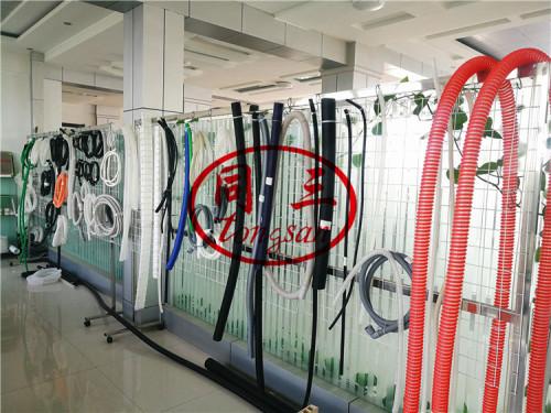 pvc corrugated pipe machine extrusion line manufacturer