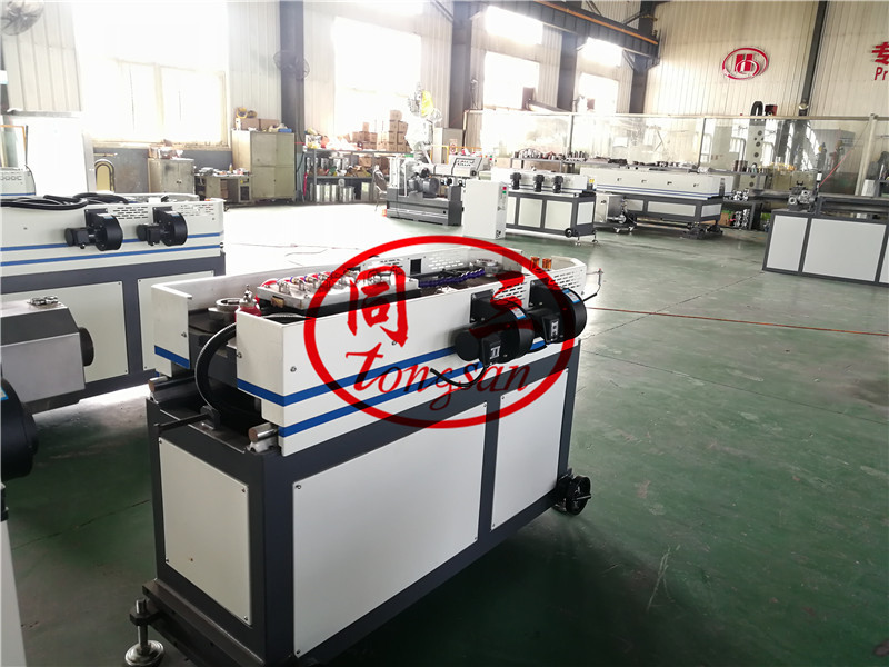 plastic corrugated pipe forming machine