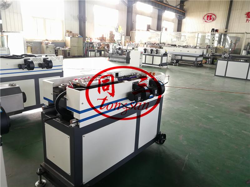 plastic corrugated pipe forming machine