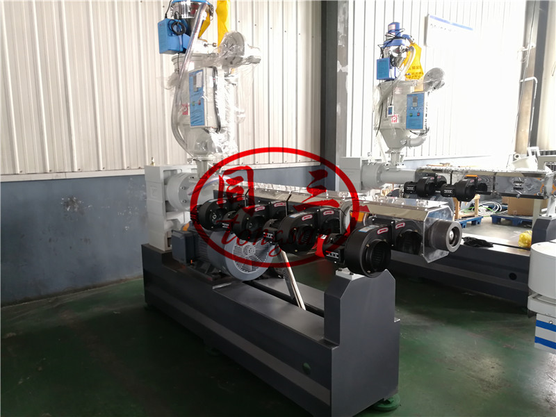 pp corrugated pipe extruder machine
