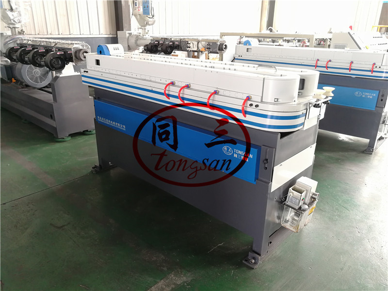 pp corrugated pipe forming machine