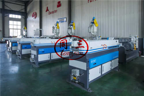 Qingdao Tongsan corrugated hose pipe machine with best quality