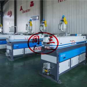 plastic corrugated pipe extrusion machine manufacturer