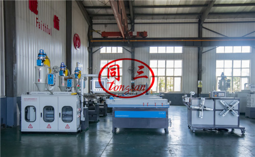 corrugated plastic pipe machine cost with best quality