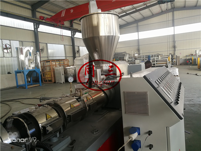 double screw extruding