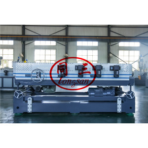 plastic single/double wall corrugator corrugated pipe forming machine