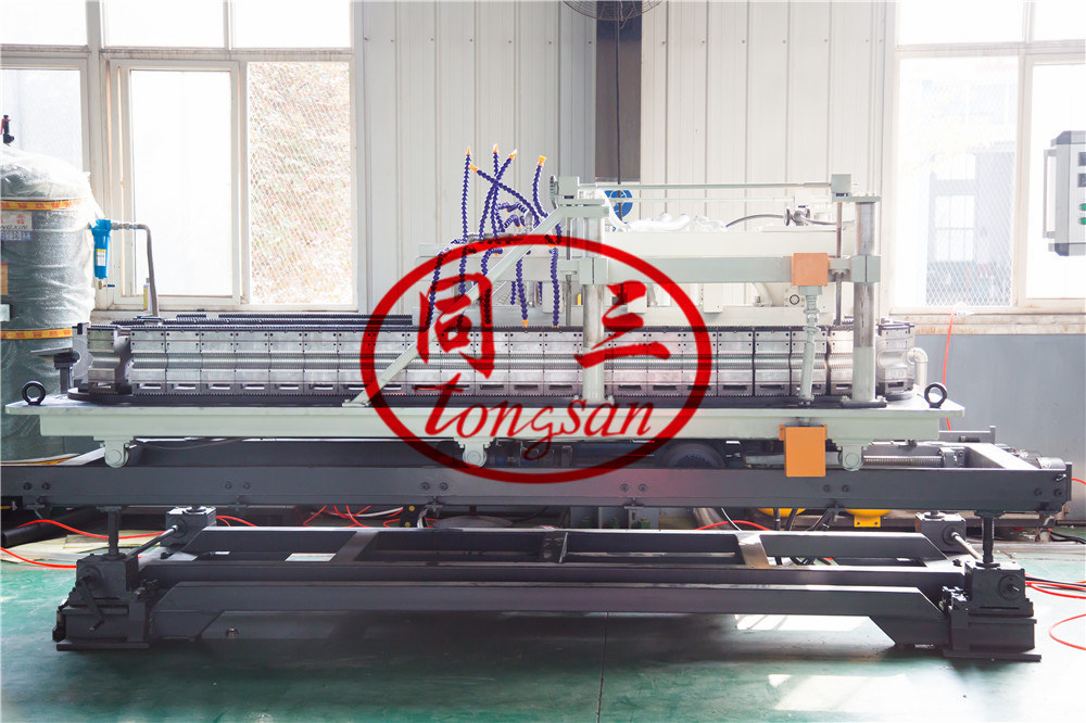 double wall corrugated pipe forming machine