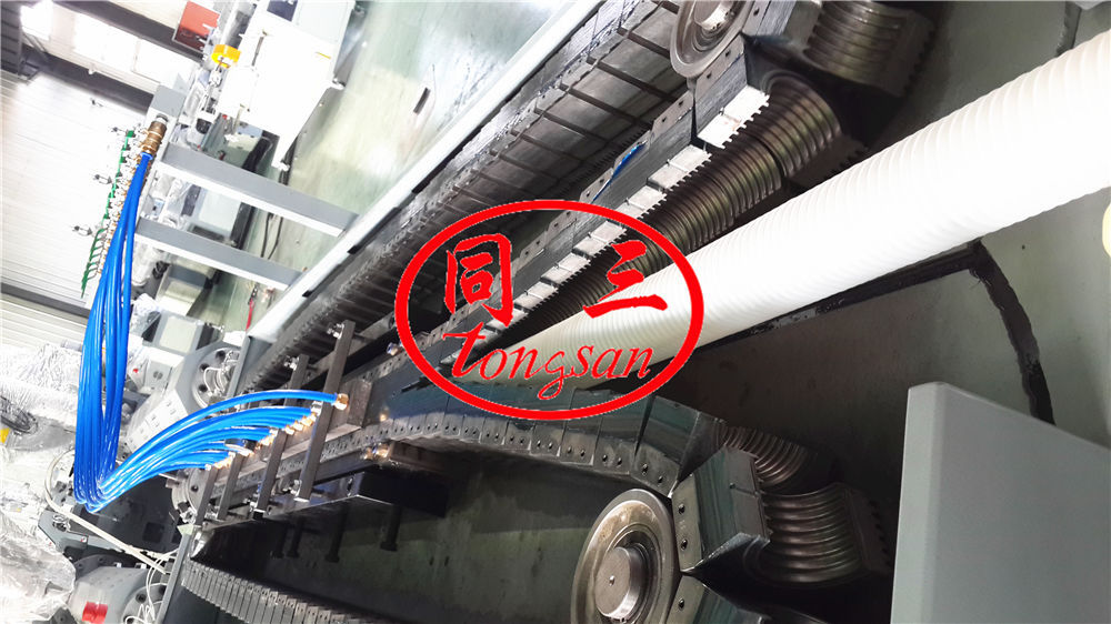 double wall corrugated pipe shaping machine