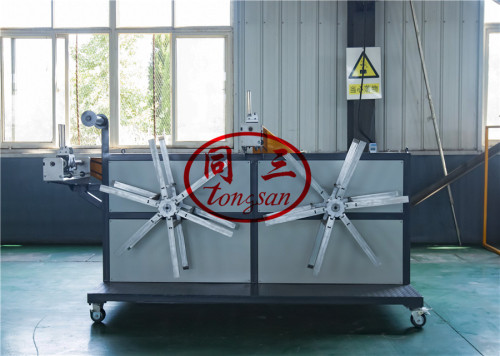 plastic single double wall corrugated pipe winding winder coiler machine