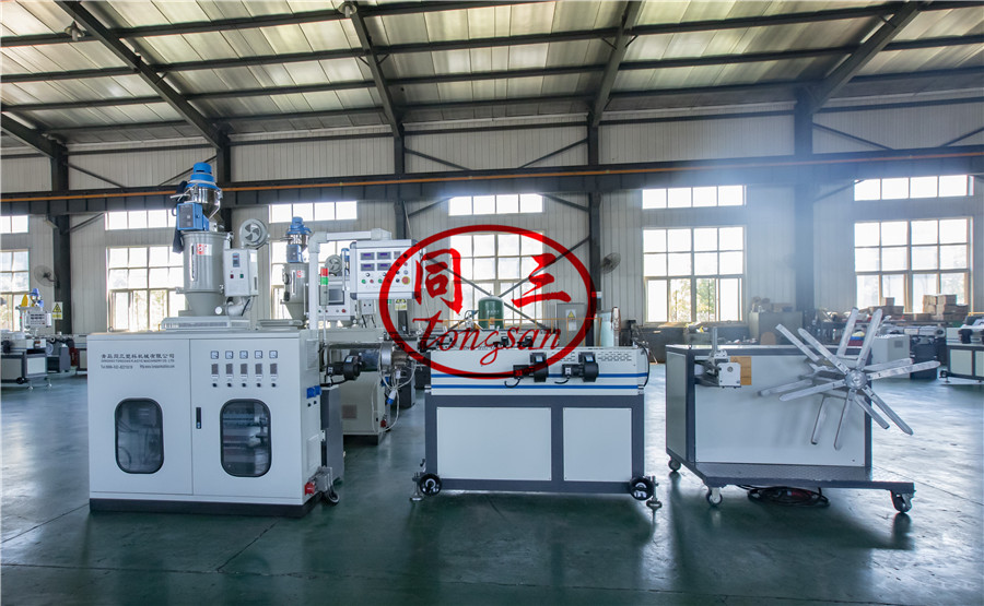 corrugated pipe winding machinery