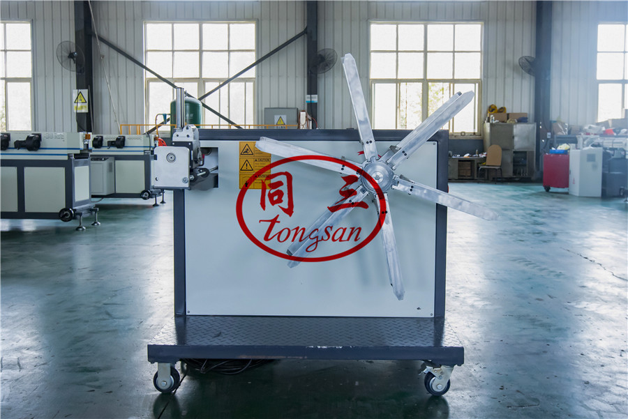 corrugated pipe winding machine
