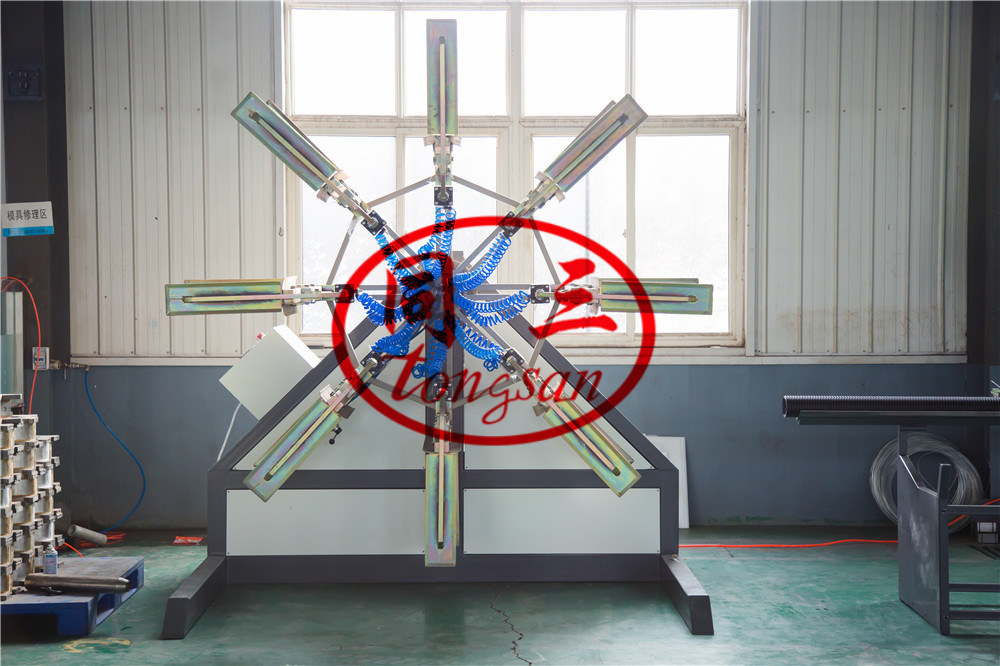 corrugated pipe winding machine supplier