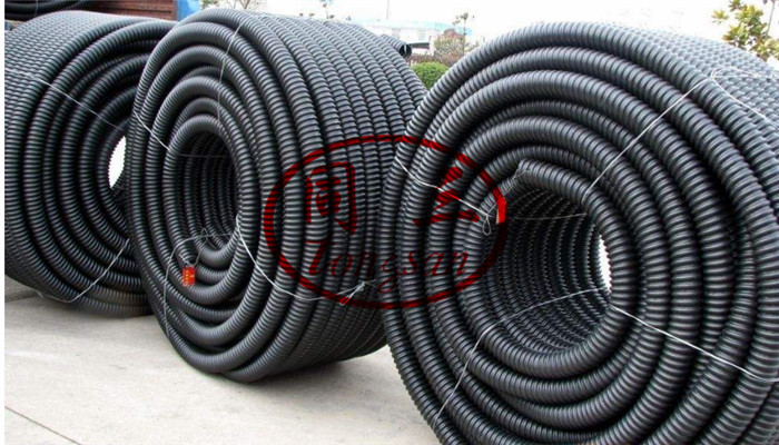 corrugated winding pipe