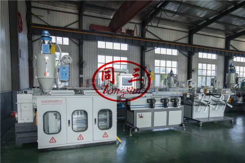 best sales 20m/min pp single wall corrugated pipe machine suppiler factory in China