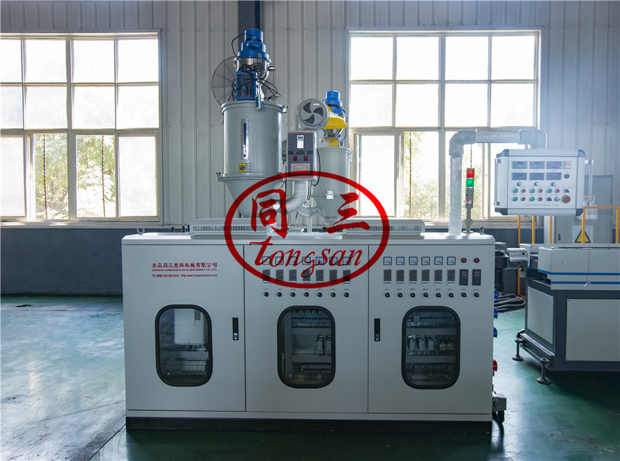corrugated hose extruder machine