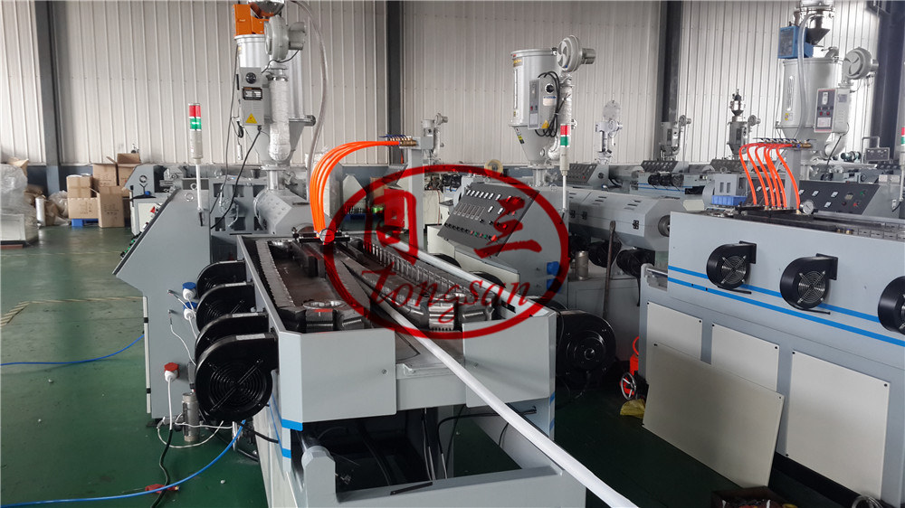 vacuum corrugated pipe forming machine