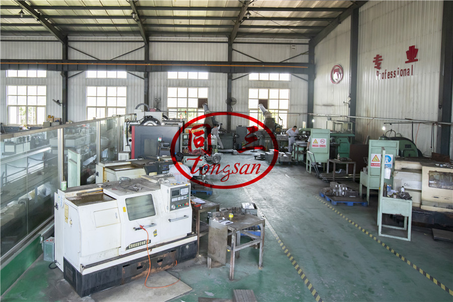 CNC machine to make corrugated pipe mould