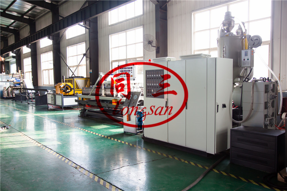 aluminum DWC pipe making machine