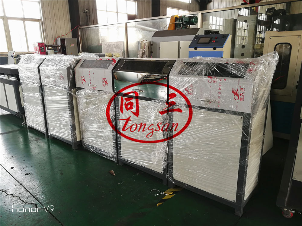 corrugated pipe steel wire device