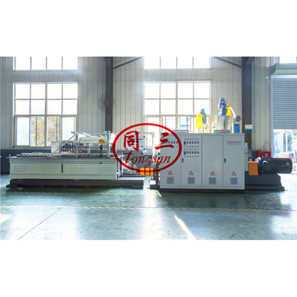 HDPE double wall corrugated pipe extrusion line/ DWC pipe extrusion line manufacturer