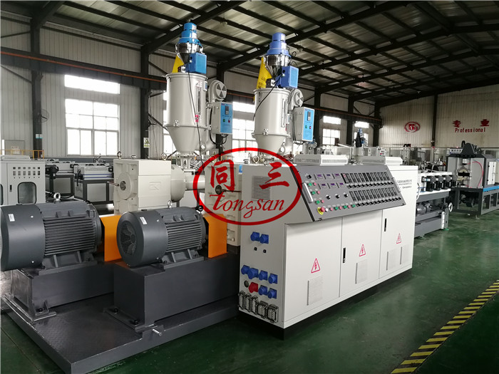 double wall corrugated pipe extruder machine