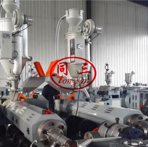 DWC double wall corrugated pipe extruding machine supplier in China