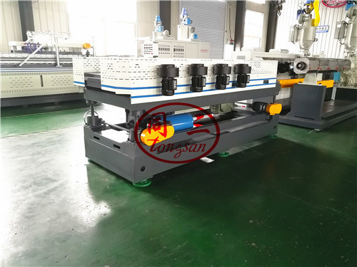 forming machine for double wall corrugated pipe machine