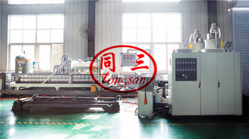 double wall corrugated drainage pipe machine / DWC drainage pipe machine