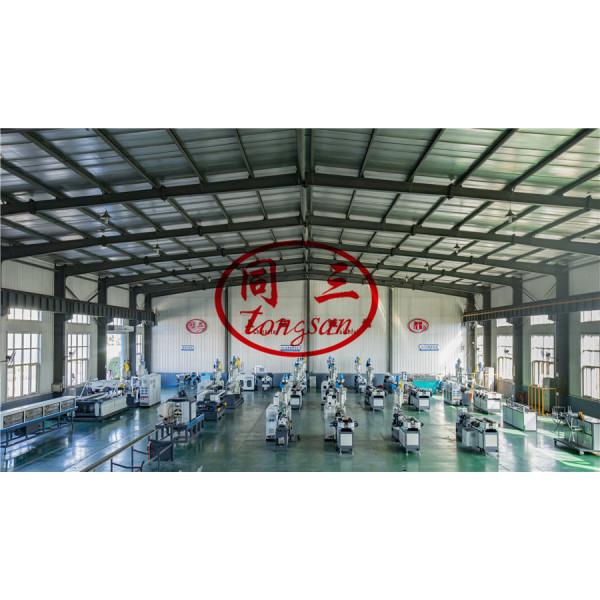 double wall corrugated plastic pipe machine / DWC plastic pipe machine