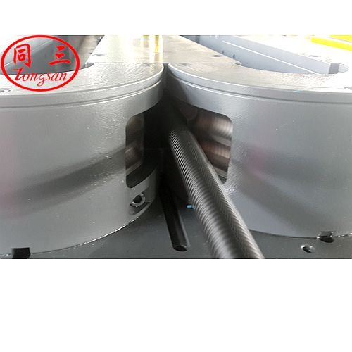 single wall vacuum corrugated pipe machine with joints
