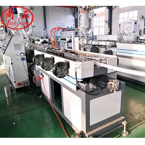 plastic single wall corrugated pipe machine china