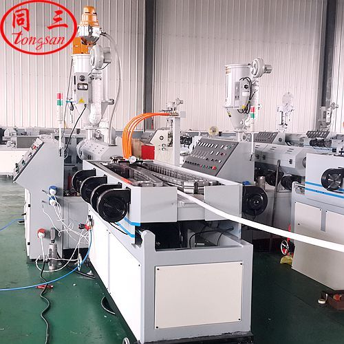 how to install corrugated pipe machine?