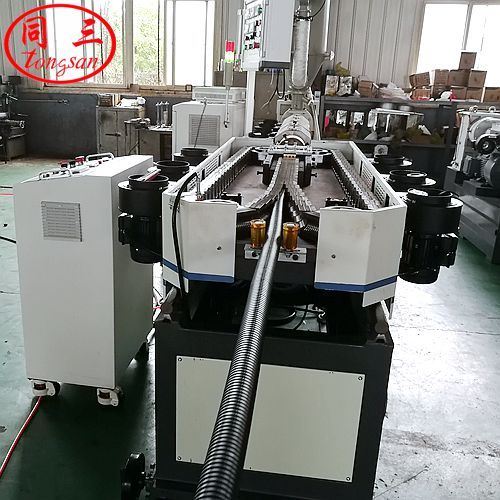 Why PA corrugaed pipe is widely used in the automotive industry? (PA Nylon corrugated pipe machine)
