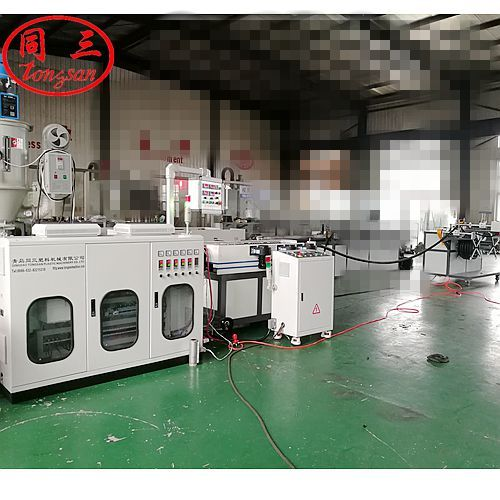 corrugated pipe extruder line
