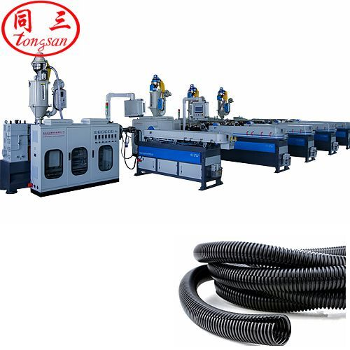 high speed corrugated pipe machine plant